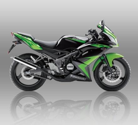 Kawasaki Ninja RR warna Hijau