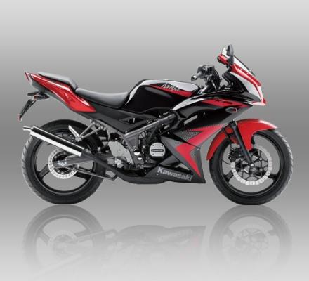 Kawasaki Ninja RR warna Merah