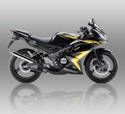 Kawasaki Ninja RR warna Hitam list kuning