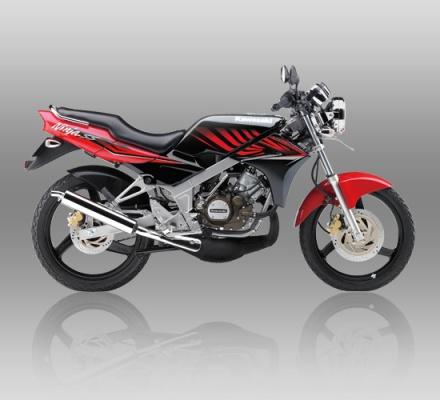Kawasaki ninja SS warna Merah