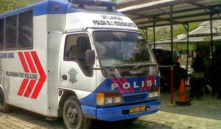 Bus SIM Keliling Kota Yogyakarta