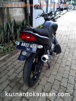 Tampak belakang Kanan Scorpio-Z tahun 2005 milik bpk. Nugroho SA