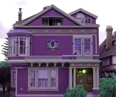 910 Koleksi Gambar Rumah Cat Purple Gratis Terbaik