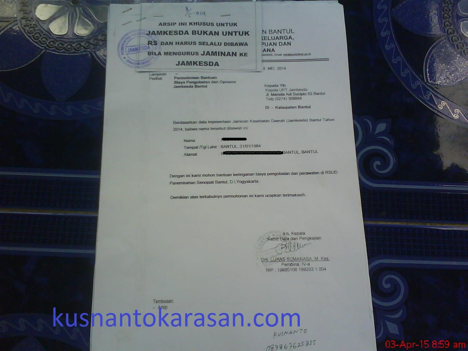 Rsud Panembahan Senopati Bantul Kusnantokarasancom
