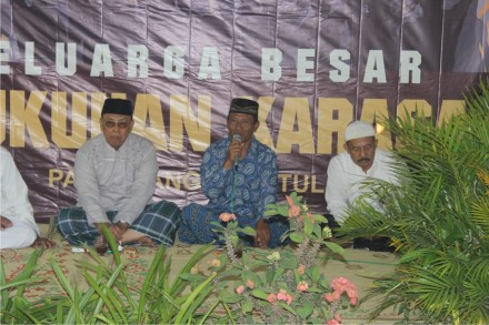 Sambutan Bapak Marsudi selaku kepala Dusun Karasan
