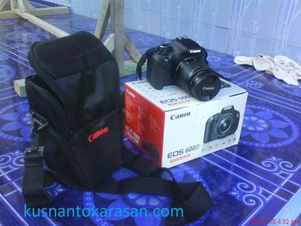 paketan kamera Canon EOS 600D