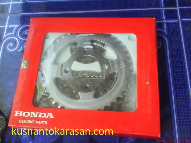 Rantai asli Honda untuk supra series berkode 06401-KEV-881