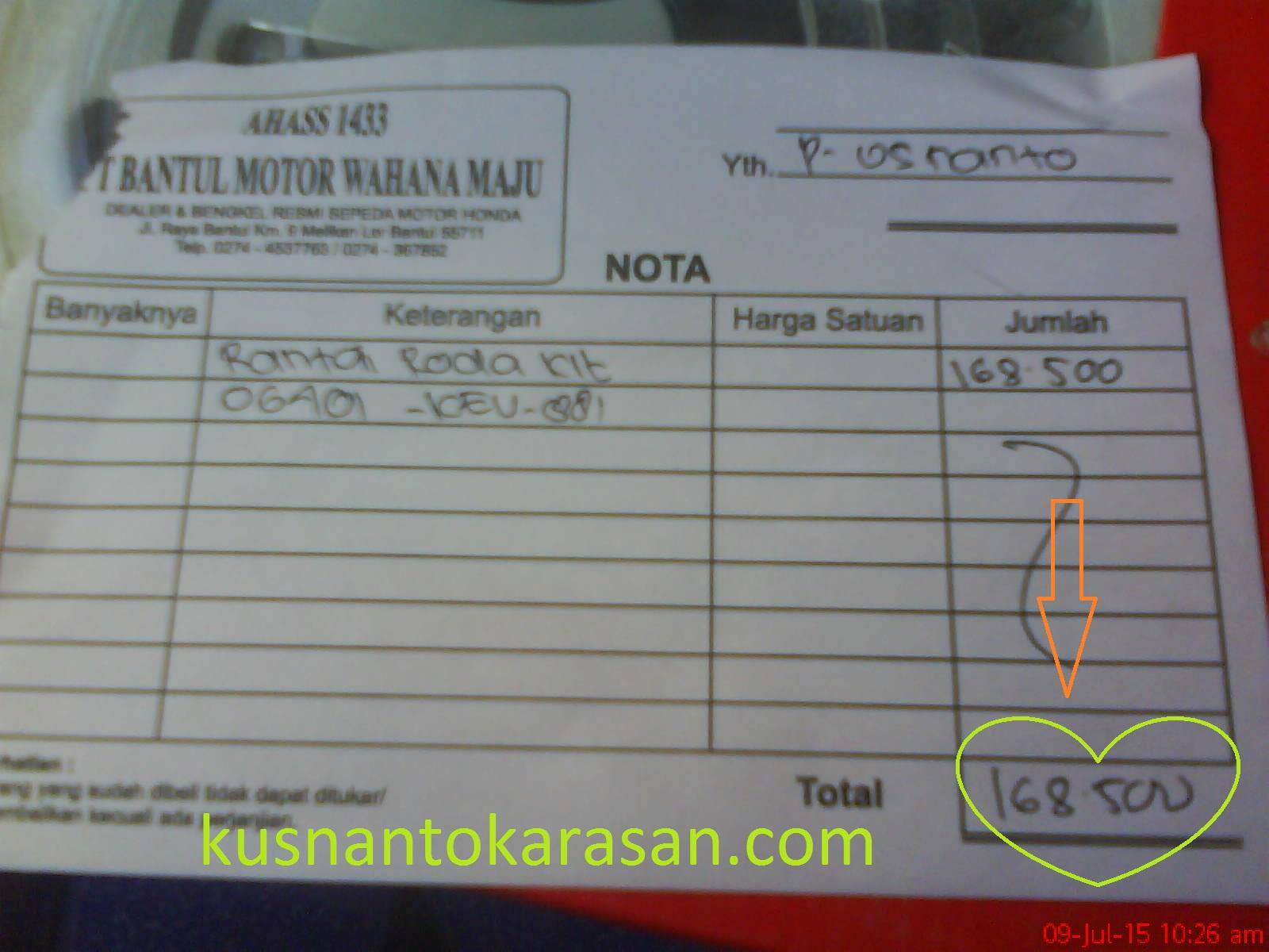 Service Motor Kusnantokarasancom