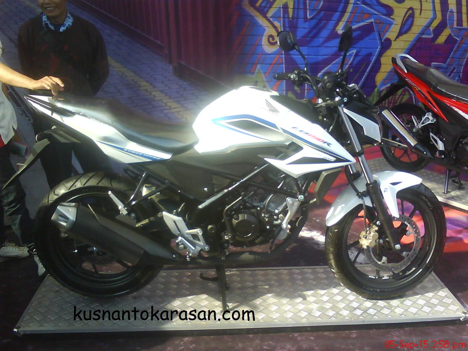 100 Modifikasi Motor Cb 150 R Warna Putih Modifikasi Motor Honda