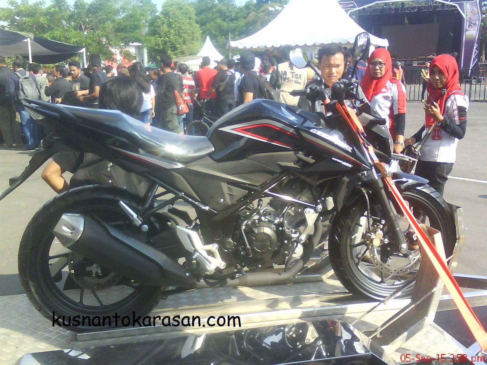 Download Modifikasi Motor New Cb 150 R Warna Merah Terbaru Obeng Motor