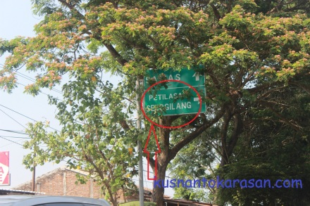 Plakat Petilasan Selo Gilang Bantul