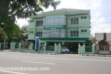 RS RESPIRA Yogyakarta, Jl. P Senopati palbapang Bantul