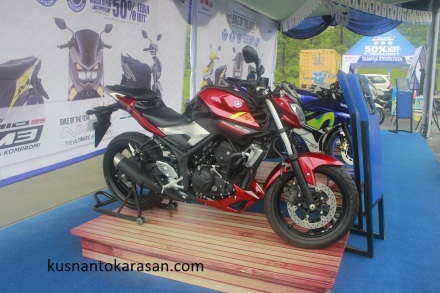 Yamaha Mt-25 warna merah