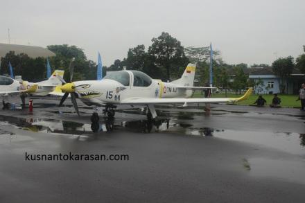 Ini juga lupa namanya pesawat Cessna kayaknya