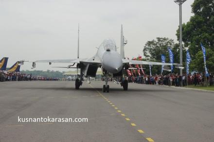 Nah ini psang Primadona Pesawat Tempur Sukhoi