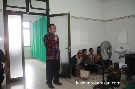 Bpk. Dr. H Murkilan Ketua Ikatan Keluarga Muslim (IKM) Rumah Sakit Paru RESPIRA