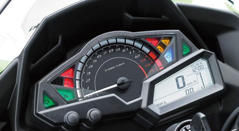 Instrumen speedometer baru