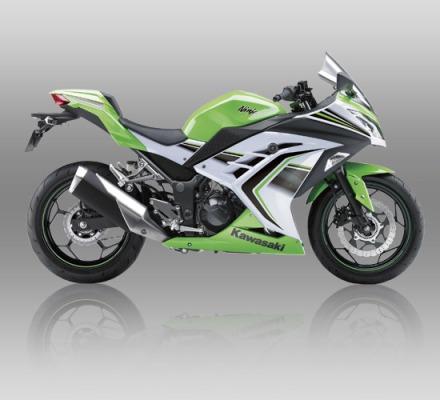 Ninja 250 ABS SE Limited warna Lime Green
