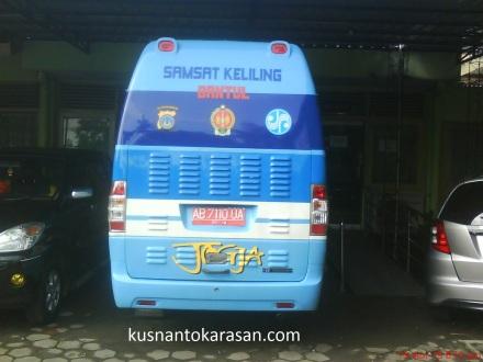 Bus Samsat keliling Bantul