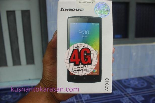 Kardus bungkus Lenovo A2010-a