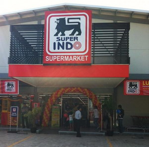Ilustrasi supermarket Super Indo