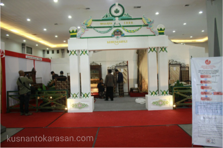 Stand dari keraton Yogyakarta