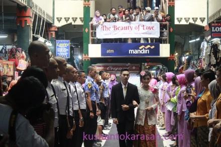 Meriahnya Fashion show Manten