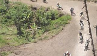 Kejurnas Motocross & Grasstrack di sirkuit Malioboro Piyungan Bantul Yogyakarta