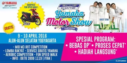 Blue core Yamaha Motor Show 2016 Yogyakarta