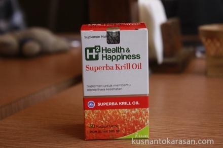 Inilah produk yang diperkenalkan suplemen makanan Superba Krill Oil H² Health & Happiness