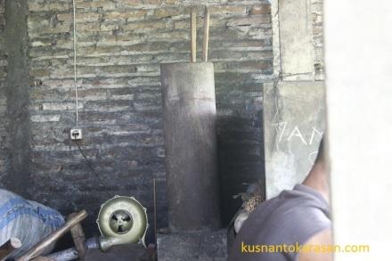 Blower listrik pengganti pompa manual