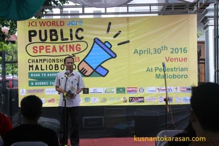 Sambutan pemkot Yogyakarta