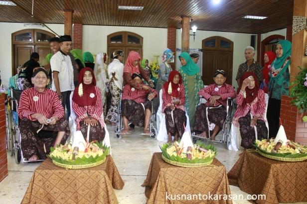 3 pasangan tertua dari Bantul dan Sleman