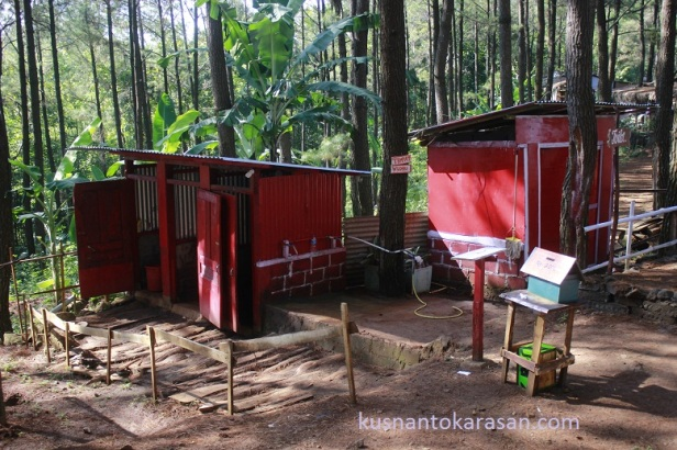 Toilet di Puncak Becici