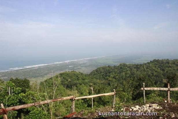 Panorama dari gazebo