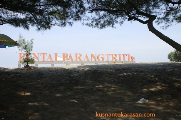 Icon pantai Parangtritis