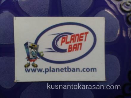 Stiker Planet Ban