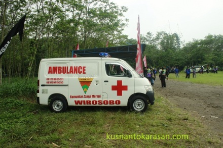 Ambulance sudah dipersiapkan