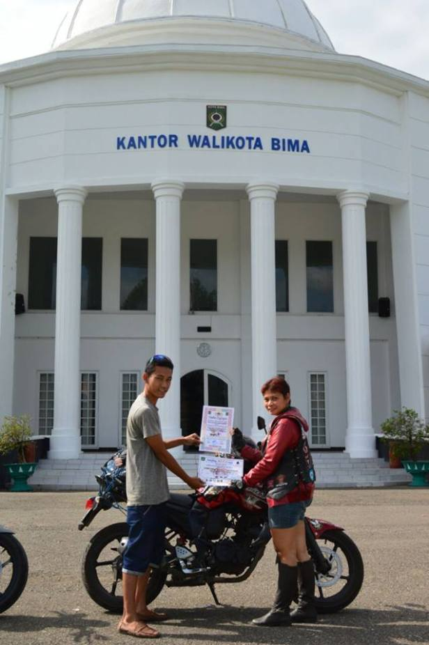 Dewi Siti Hawa saat di Bima