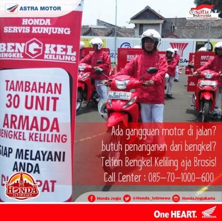Bengkel Keliling Honda Yogyakarta