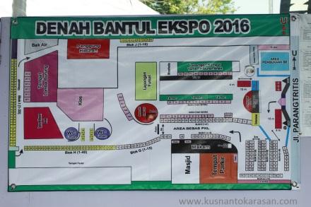 Denah Bantul Expo 2016