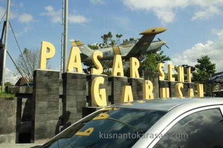 Pasar Seni Gabusan Jl. Parangtritis Km. tempat penyelenggaraan Bantul Expo