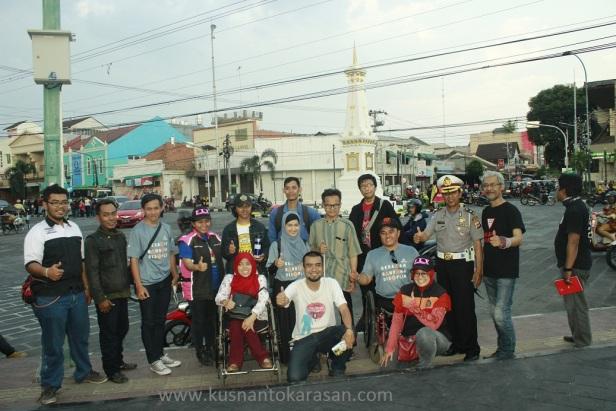Fotp bersama difabel dari Bandung
