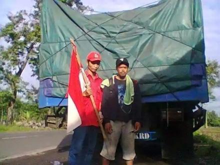 Suhodo terpantau 06.15 pagi , di Tonjong Brebes( Aska/beita kulon progo/facebook)