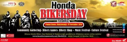 Honda Bikers Day 2016