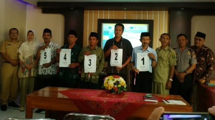 5 calon lurah desa Palbapang