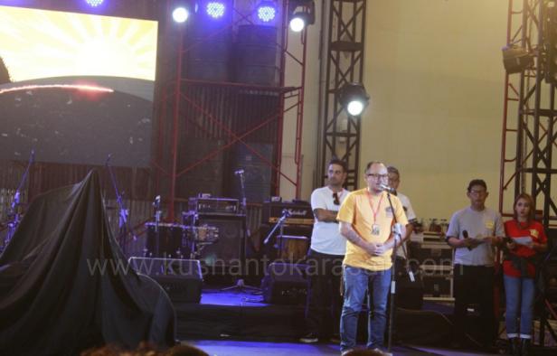 Sambutan Luluk WahyudiWahyudi direktur KUSTOMFEST 2016