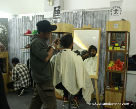Booth 'style' potong rambut
