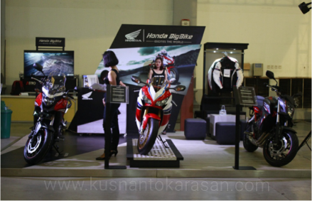 Booth Honda Big Bike