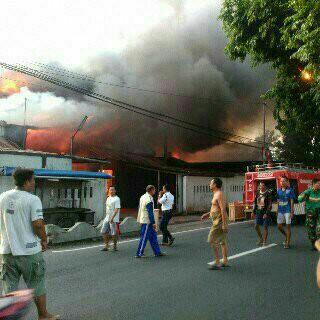 Kebakaran di Jl Parangtritis Km 7,5